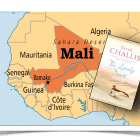 "Novel set in Mali (""a fairly clear picture of Mali"")"
