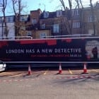 Crime novel set in London (London has a new detective)