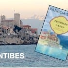 Romance novel set in Antibes, and the author talks about setting