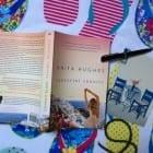 Romance novel set on Santorini, Greece