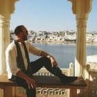 Talking Location with author Frank Kusy – India