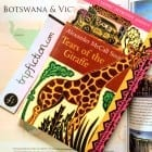 Novel set in Botswana, Africa