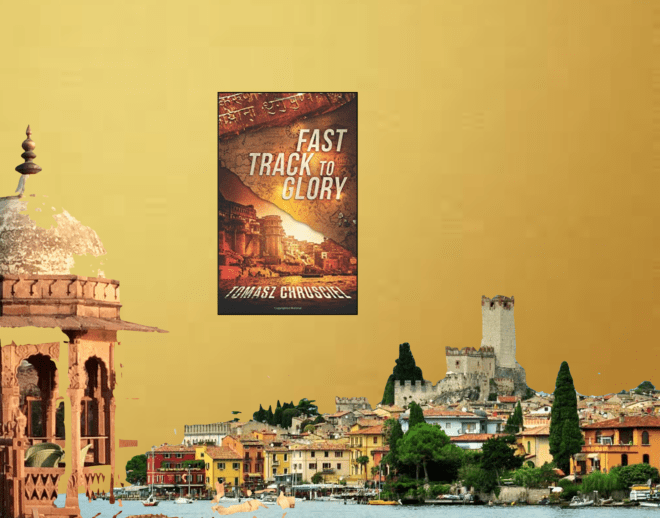Novel set in Europe and Jaipur