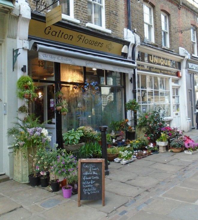 flower shop in Flask Walk