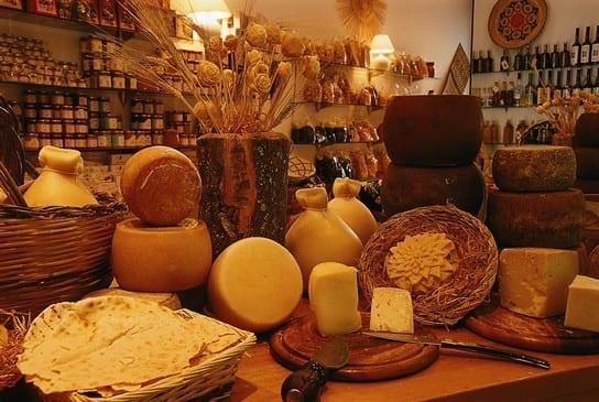 Cheese from Cagliari