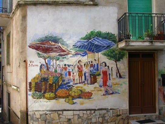 Village mural in Orgosolo
