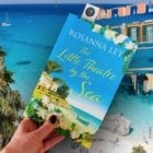 """#TFBookClub is launched! Reading Rosanna Ley's """"The Little Theatre By The Sea"""" set in Sardinia and Dorset"""