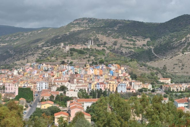 Bosa - the inspiration for the town of Deriu