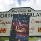 """Crime thriller set in Northumberland (""""a real hanging suspense"""")"""