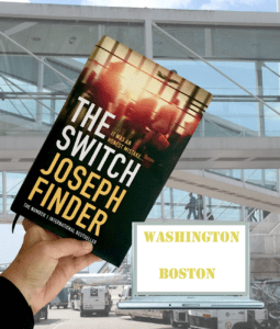 Political espionage thriller set in Washington and Boston