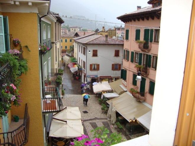Romance novel set in Malcesine