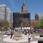 Author Aaron Poochigian. Musings on Washington Square Park