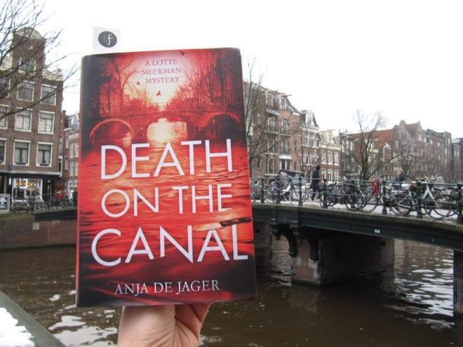 Detective novel set in Amsterdam