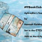 "The #TFBookClub reads ""Aphrodite's Tears"" by Hannah Fielding, set in the Cyclades, Greece"
