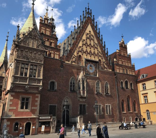 Three fascinating days in Wrocław