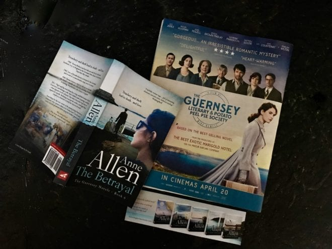 Time slip novel set on Guernsey