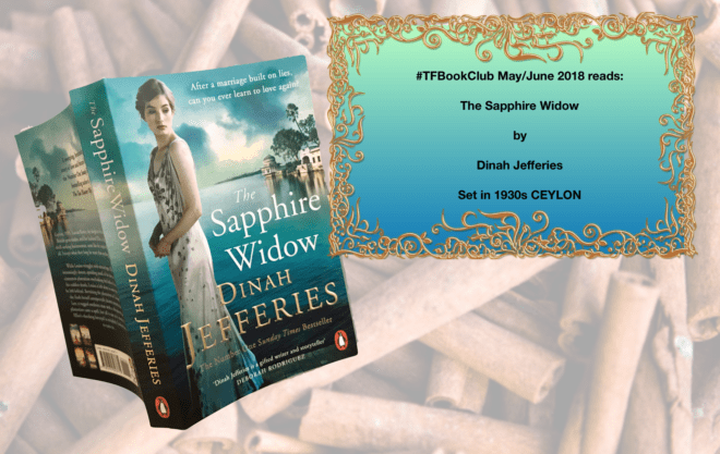 "The Sapphire Widow"" by Dinah Jefferies"