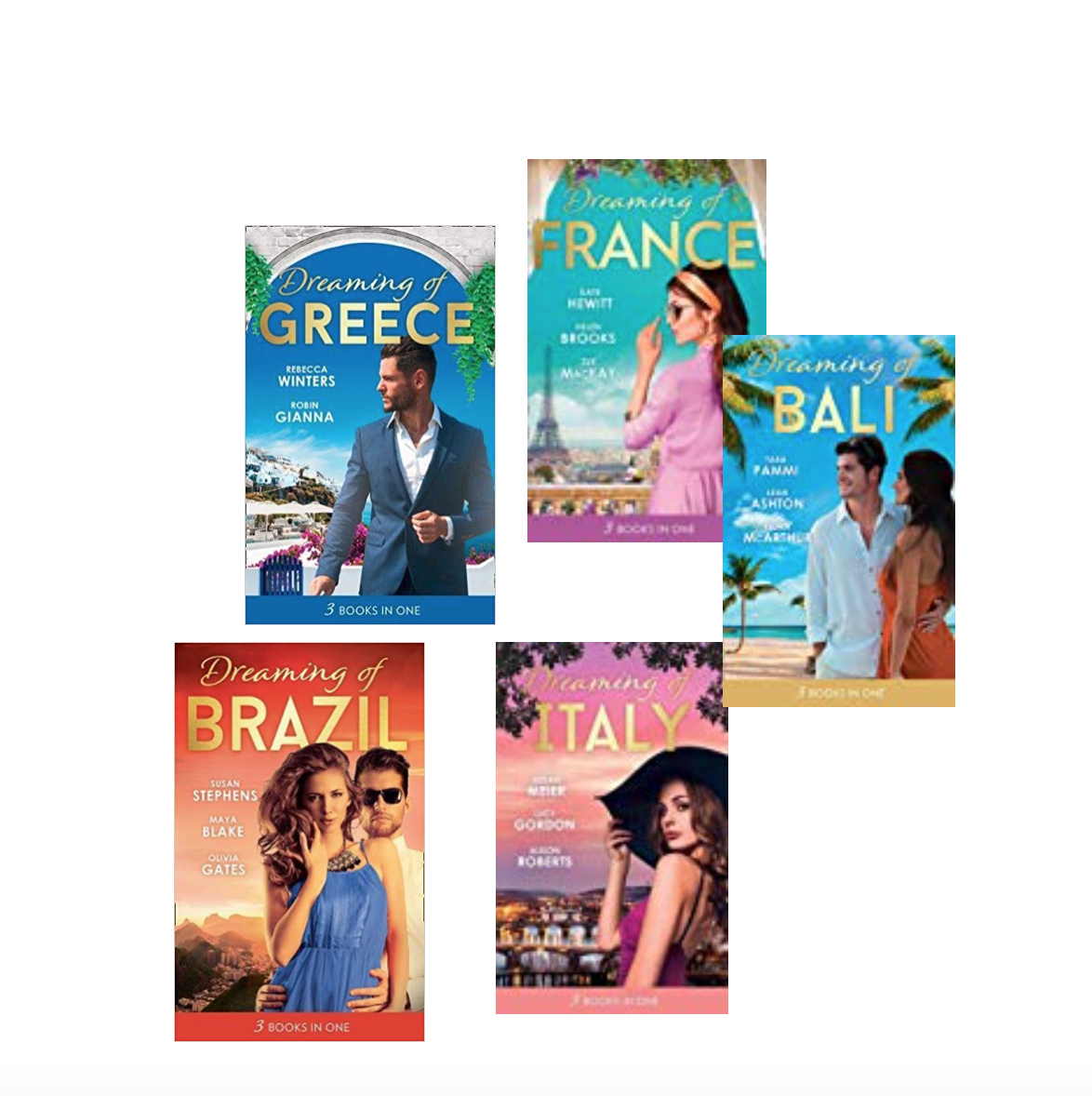 Win 'Armchair Travel' books with Mills and Boon – Italy – Greece