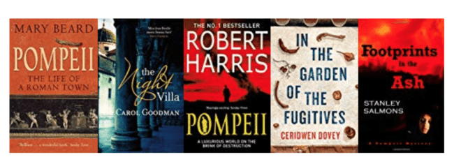 Five great books set in Pompeii