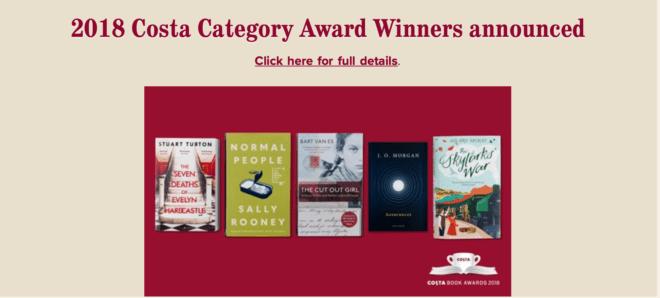 The Costa Book Awards