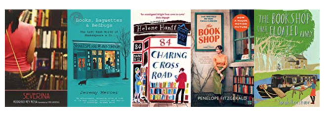 Five great books set in bookshops