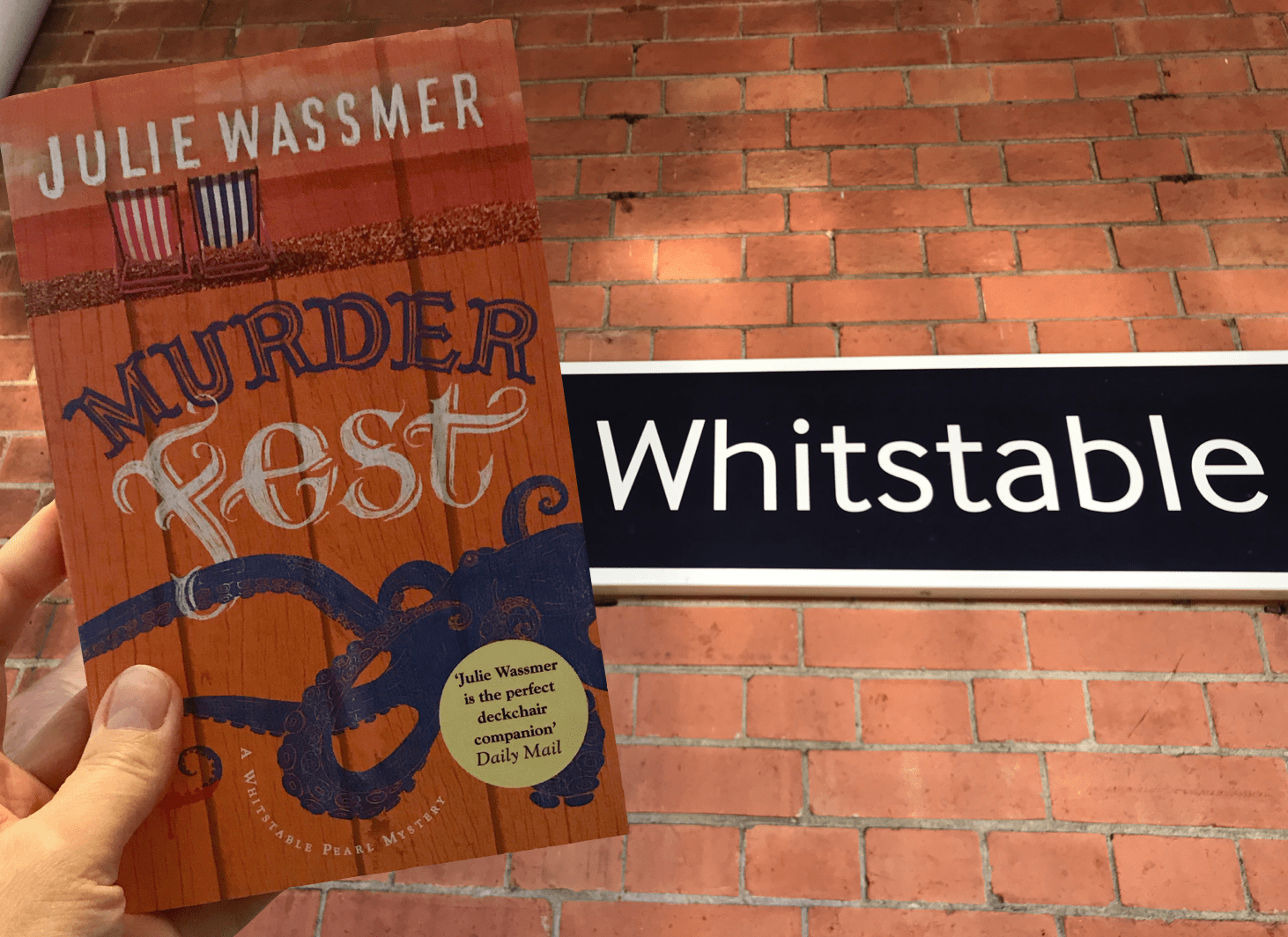 Cosy murder mystery set in Whitstable