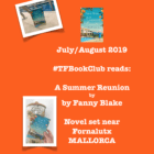The TripFiction Book Club July/August '19 reads 'A Summer Reunion' by Fanny Blake