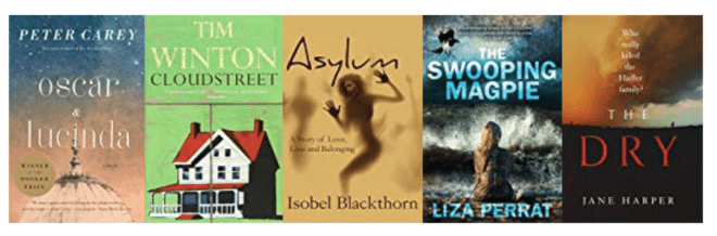 Five great books set in AUSTRALIA