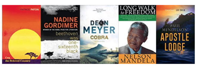 Five great books set in SOUTH AFRICA