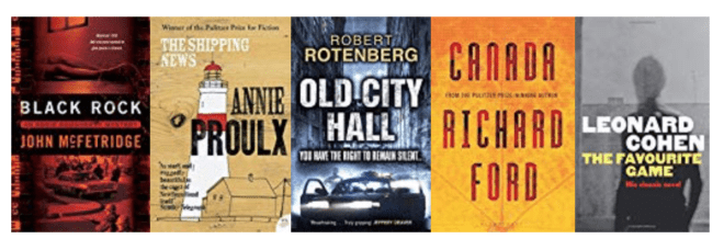 Five great books set in CANADA