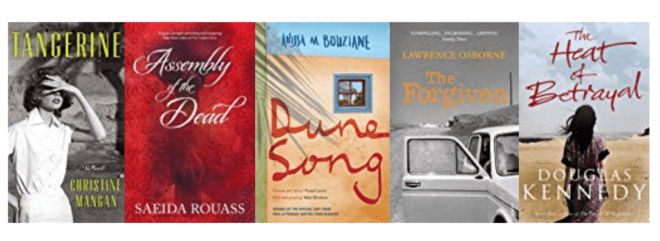 Five Great Books set in MOROCCO