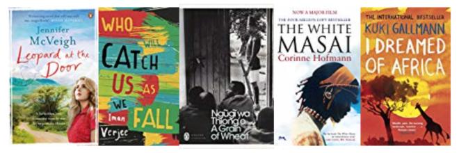 Five great books set in KENYA