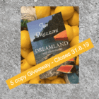 International GIVEAWAY:  5 copies of Dreamland set along the Amalfi Coast!