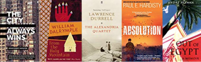 Five great books set in EGYPT