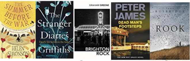 Five great books set in SUSSEX