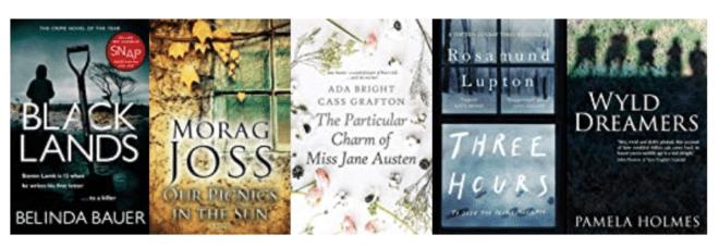 Five great books set in EXMOOR & SOMERSET