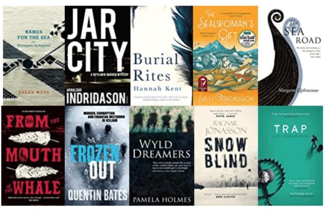 Ten Great Books set in ICELAND