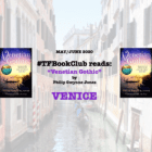 The TripFiction Book Club May/June 2020 reads 'Venetian Gothic'