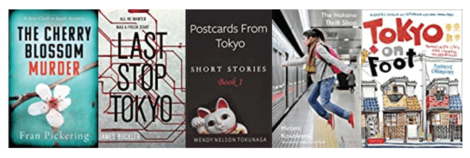 Five great books set in TOKYO