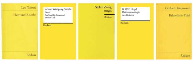 The art of the yellow book cover