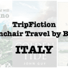 TripFiction armchair travel by book – ITALY