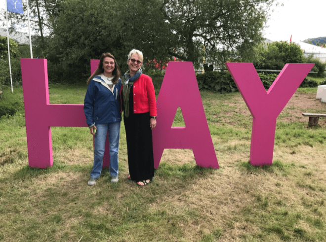 Attending Hay Festival via Crowdcast - Author Maggie O'Farrell