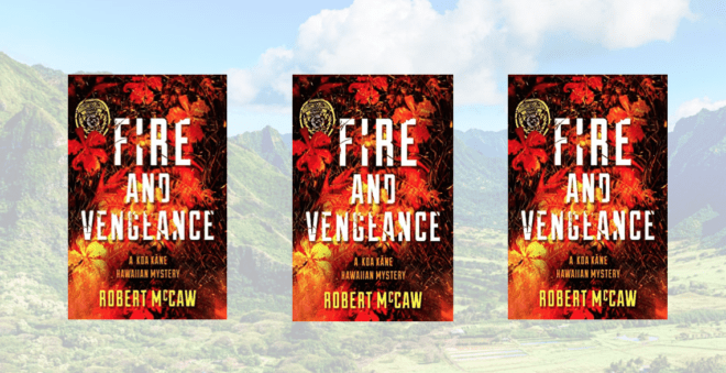 3 copies of Fire and Vengeance set in Hawai'i