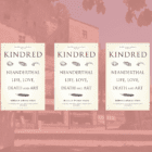GIVEAWAY – 3 copies of Kindred: Neanderthal Life, Love, Death and Art