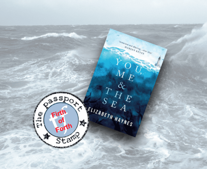 Novel set on a fictional island in the FIRTH OF FORTH