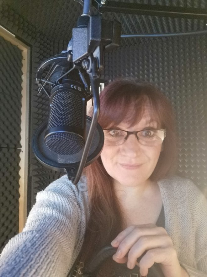 Behind The Scenes with Diana Croft - audio book narrator