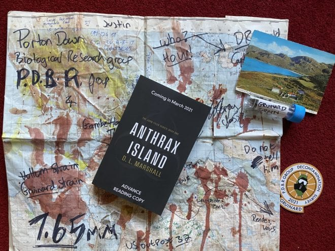 A thriller set on an island you won't want to visit