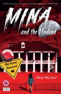 Amy McCaw, author of Mina and the Undead