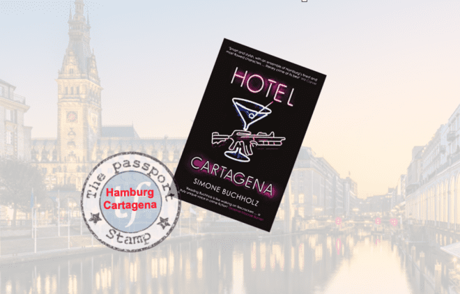 Thriller set in Hamburg (with a side visit to Cartagena, Colombia)