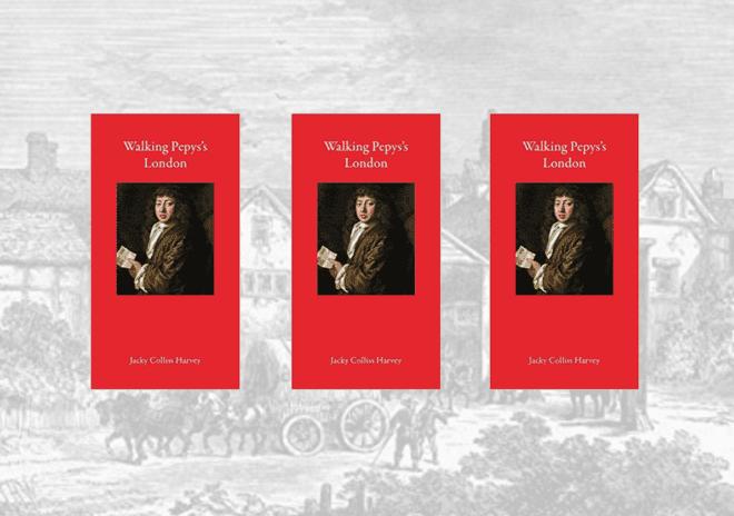 """3 copies of """"Walking Pepys's London"""